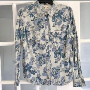 Mossimo flower button down